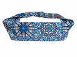 Large Pocket Adjustable Belt - Cosmic Blues