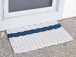 Striped Nautical Door Mat