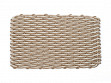 Nautical Rope Doormat - Sand & Light Tan - Large