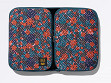Expandable Travel Organizer - Maze of Flowers