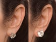 Anti-Droop Earring Lifts - Sterling Silver (One Pair)