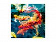 Small Wooden Jigsaw Puzzle - Koi
