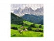 Small Wooden Jigsaw Puzzle - Funes Valley