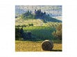 Small Wooden Jigsaw Puzzle - Campagna Toscano