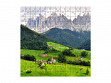 Medium Wooden Jigsaw Puzzle - Funes Valley