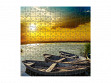 Medium Wooden Jigsaw Puzzle - River Sunset