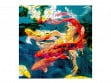 Large Wooden Jigsaw Puzzle - Koi