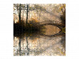 Large Wooden Jigsaw Puzzle - Misty Autumn Bridge