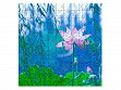 Small Wooden Jigsaw Puzzle - Waterlily