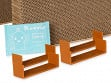 Two-Piece Lynks Cat Scratcher