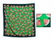 Patterned Silk Scarf - Watermelon