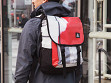 Repurposed Billboard Backpack