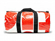 Repurposed Billboard Duffle - OC Red/Orange