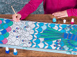 DIY Silk Scarf Painting Kit