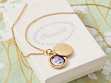 Monogram Photo Locket