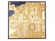 Laser Cut Stadium City Map - South Bend, IN