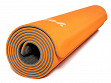 Self-Rolling Fitness & Yoga Mat - Orange/Grey