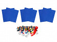 Removable Tile Building Surface Kit - Blue