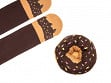 Knitted Doughnut Socks - Fudge Sprinkles
