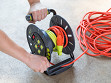 Extension Cord Open Storage Reel