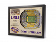 3D Stadium Wall Art - College - LSU Tigers