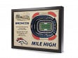 3D Stadium Wall Art - NFL - Denver Broncos