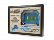 3D Stadium Wall Art - NFL - Detroit Lions
