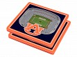 3D Stadium Coaster Set NCAA Auburn Tigers Jordan-Hare Stadium