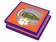 3D Stadium Coaster Set NCAA Clemson Tigers Memorial Stadium