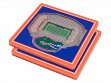 3D Stadium Coaster Set NCAA Florida Gators Ben Hill Griffin Stadium