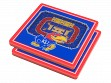 3D Stadium Coaster Set NCAA Kansas Jayhawks Allen Fieldhouse