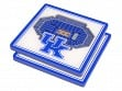 3D Stadium Coaster Set NCAA Kentucky Wildcats Rupp Arena