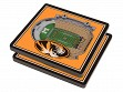 3D Stadium Coaster Set NCAA Missouri Tigers Faurot Field at Memorial Stadium
