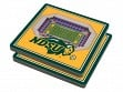3D Stadium Coaster Set NCAA North Dakota State Bison Fargodome
