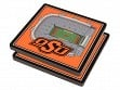 3D Stadium Coaster Set NCAA Oklahoma State Cowboys Boone Pickens Stadium