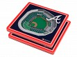 3D Stadium Coaster Set MLB Atlanta Braves SunTrust Park