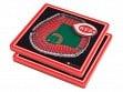 3D Stadium Coaster Set MLB Cincinnati Reds Great American Ball Park