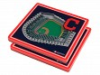 3D Stadium Coaster Set MLB Cleveland Indians Progressive Field