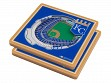 3D Stadium Coaster Set MLB Kansas City Royals Kauffman Stadium