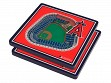 3D Stadium Coaster Set MLB Los Angeles Angels Angel Stadium of Anaheim