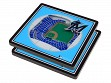 3D Stadium Coaster Set MLB Miami Marlins Marlins Park