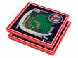 3D Stadium Coaster Set MLB Minnesota Twins Target Field