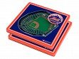 3D Stadium Coaster Set MLB New York Mets Citi Field