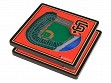 3D Stadium Coaster Set MLB San Francisco Giants Oracle Park