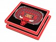 3D Stadium Coaster Set NBA Chicago Bulls United Center