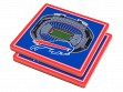 3D Stadium Coaster Set NFL Buffalo Bills New Era Field