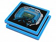 3D Stadium Coaster Set NFL Carolina Panthers Bank of America Stadium