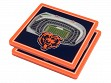 3D Stadium Coaster Set NFL Chicago Bears Soldier Field