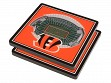 3D Stadium Coaster Set NFL Cincinnati Bengals Paul Brown Stadium