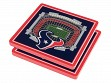 3D Stadium Coaster Set NFL Houston Texans NRG Stadium